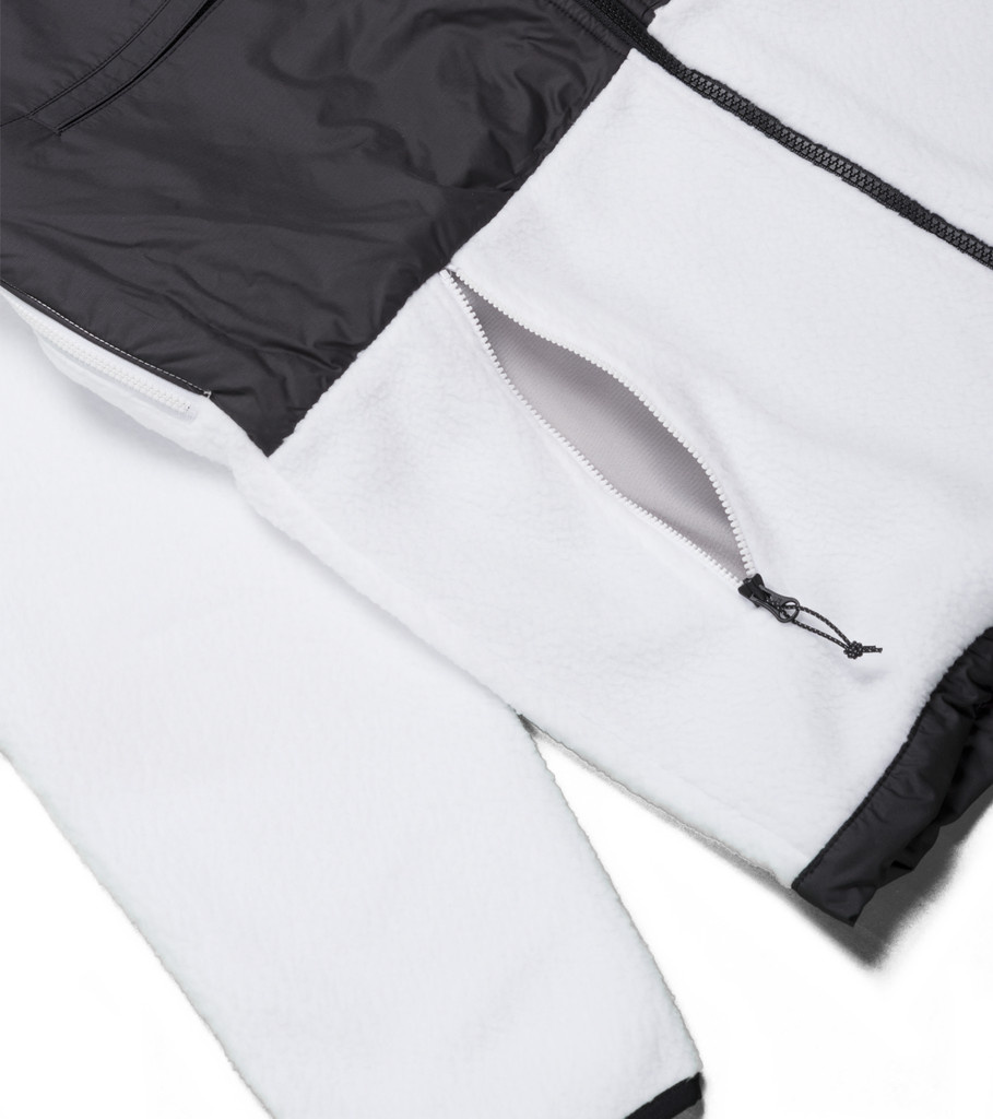 "The North Face M Denali Fleece ""Black/White Reflective"""