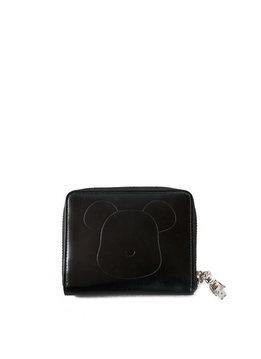 "Medicom Be@Rbrick x Yoshida Porter Leather Wallet ""Black"""