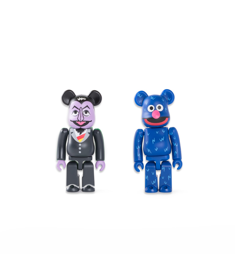 """Count Von Count & Groever 100% Be@rbrick """"Mix""""-2"""
