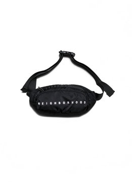 "Neighborhood Waist Bag ""Black"""