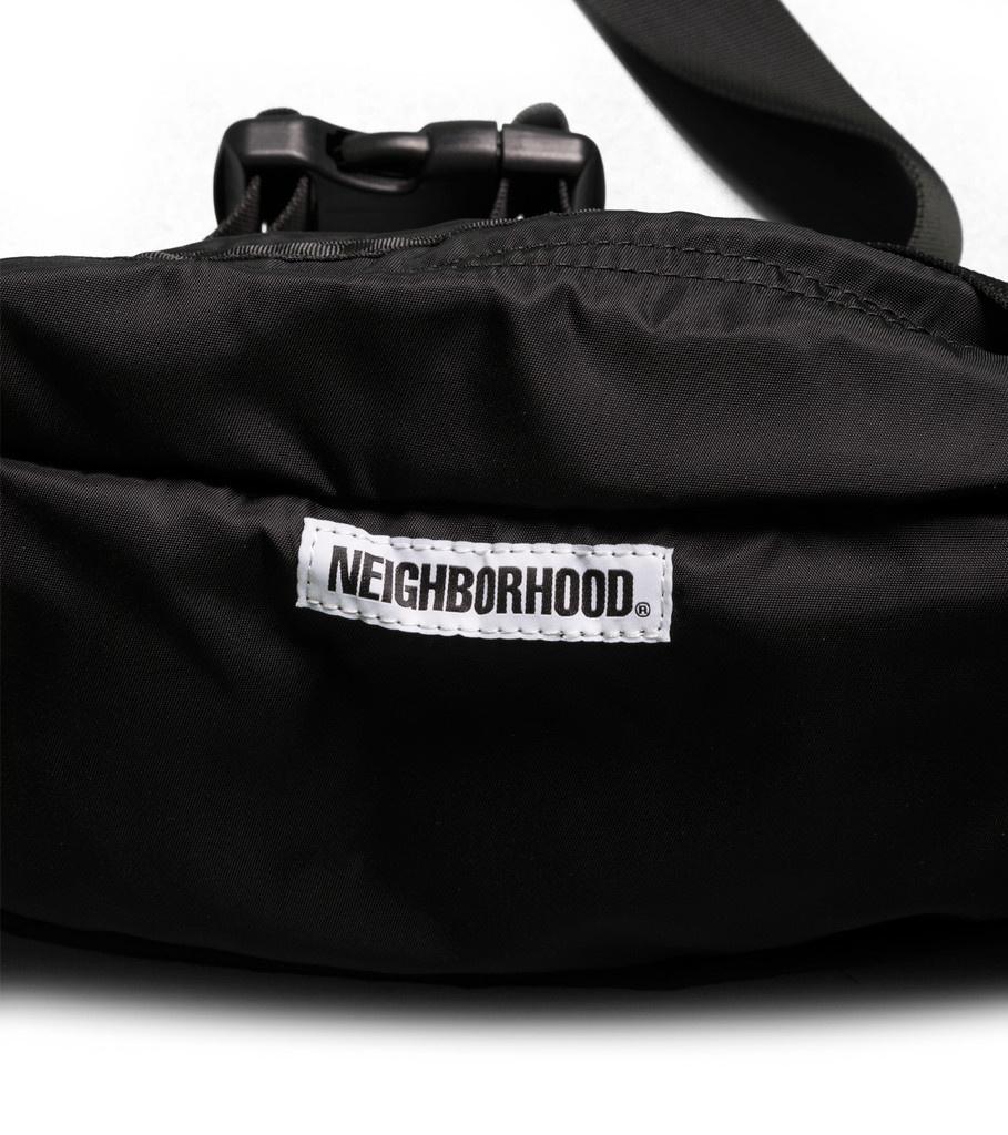 "Neighborhood Waist Bag ""Black"""