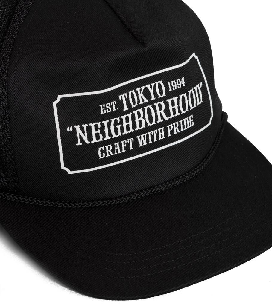 """Neighborhood Trucker Cap """"Black"""""""