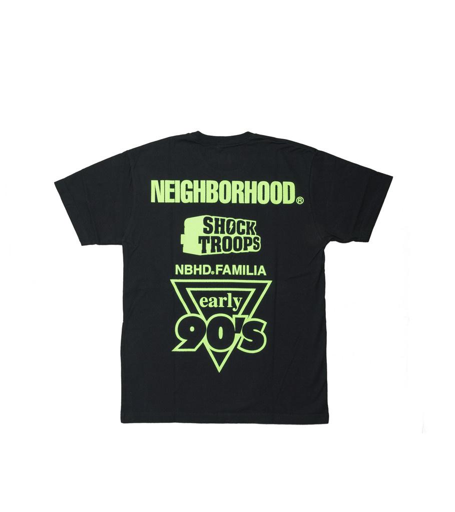 "Neighborhood Familia Tee ""Black/Green"""