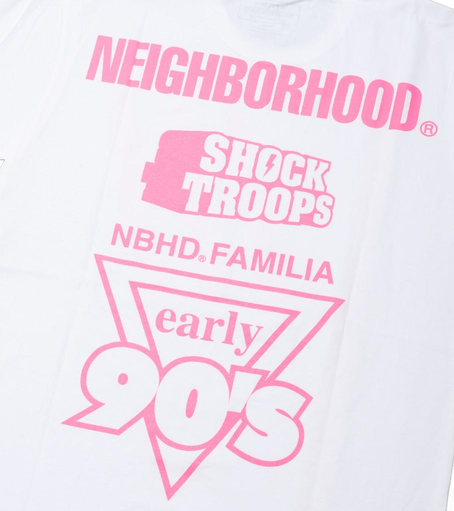"Neighborhood Familia Tee ""White/Pink"""