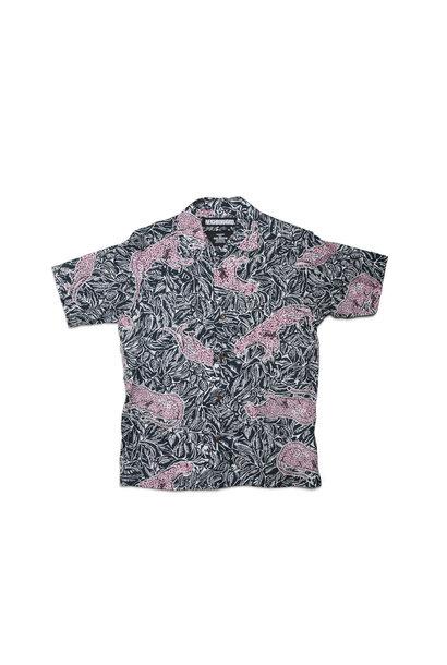 """Aloha Panther SS Shirt """"Navy"""""""