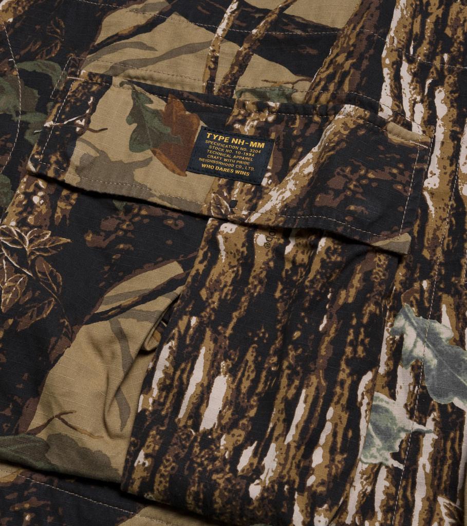 """Neighborhood Mililtary Vest """"Camouflage"""""""