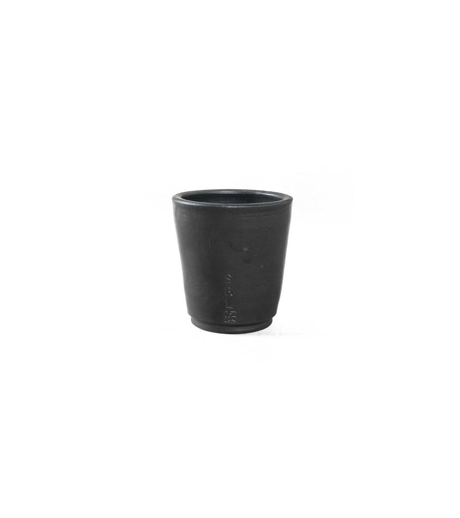 "SRL Den-3S Plant Pot ""Black""-1"