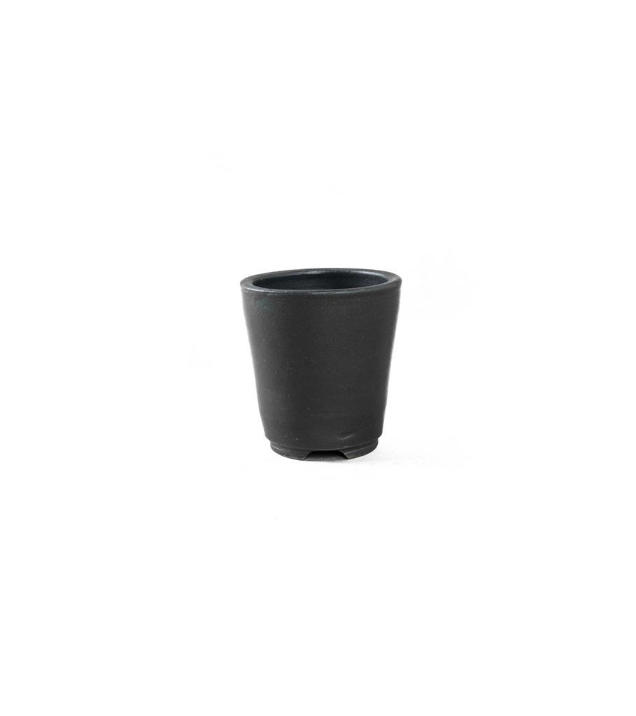 "SRL Den-3S Plant Pot ""Black""-2"