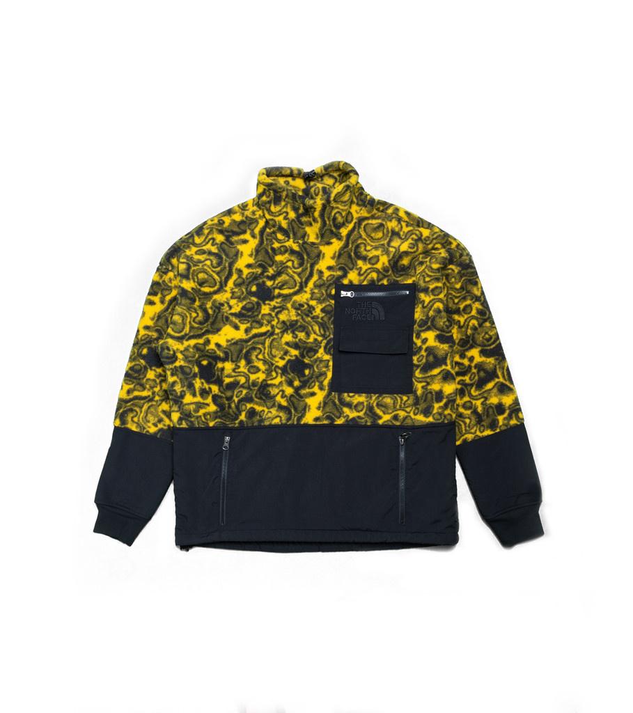 """94 Rage Fleece Jacket """"Leopard Yellow""""-1"""