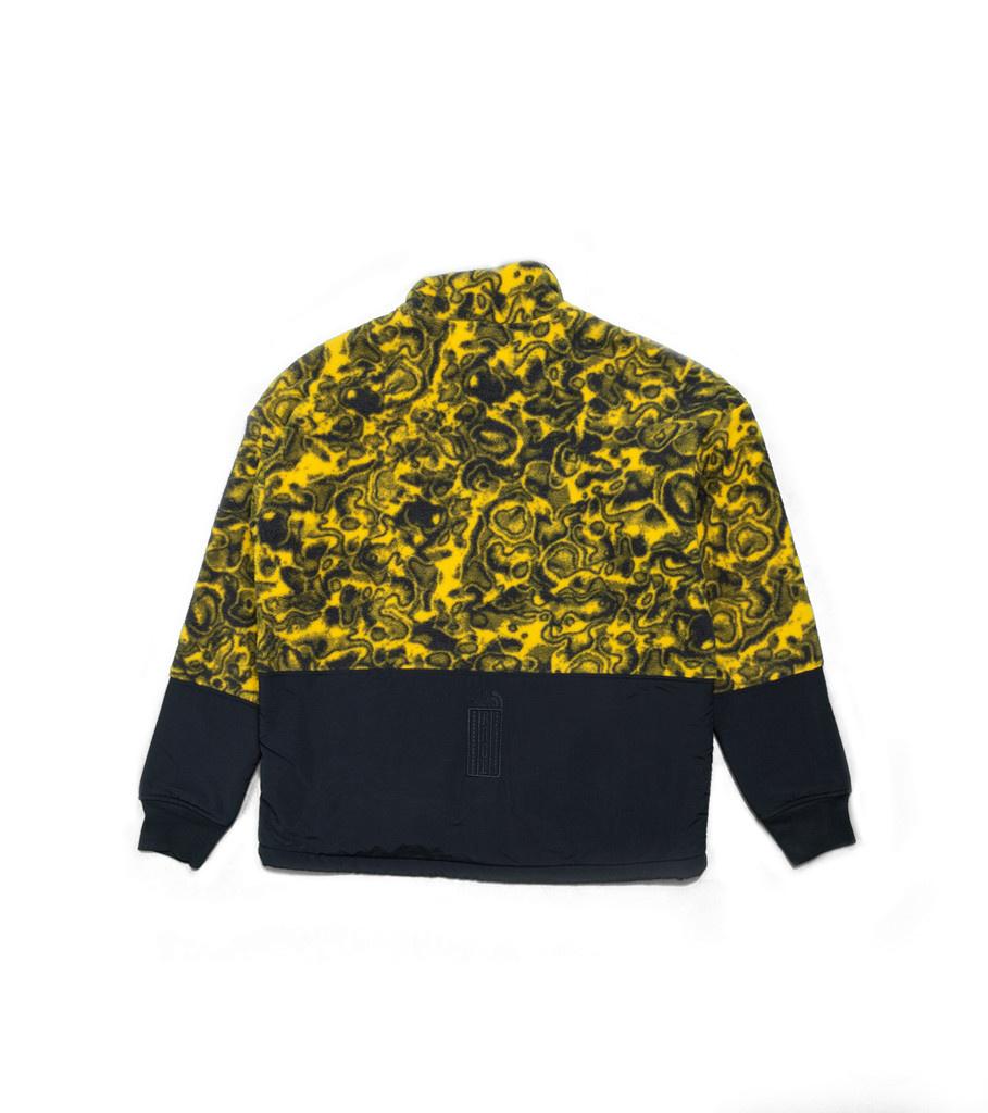 """94 Rage Fleece Jacket """"Leopard Yellow""""-2"""