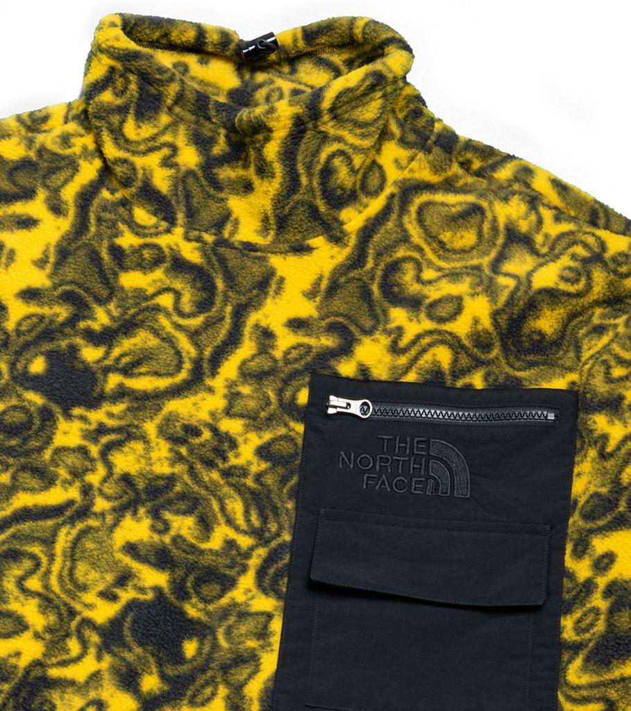 """94 Rage Fleece Jacket """"Leopard Yellow""""-3"""