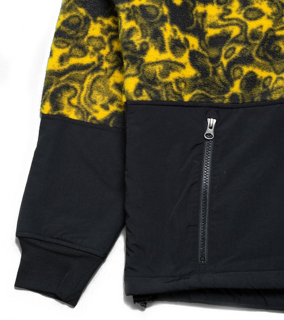 """94 Rage Fleece Jacket """"Leopard Yellow""""-4"""