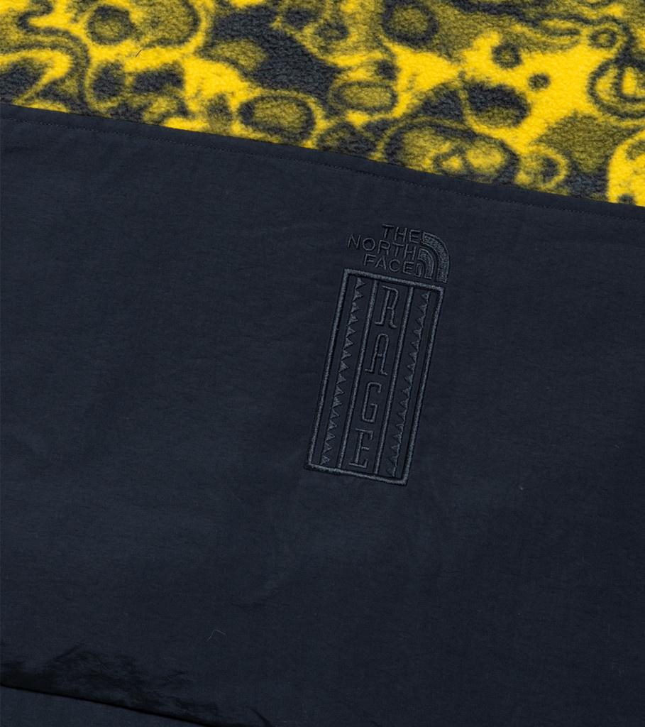 """94 Rage Fleece Jacket """"Leopard Yellow""""-5"""