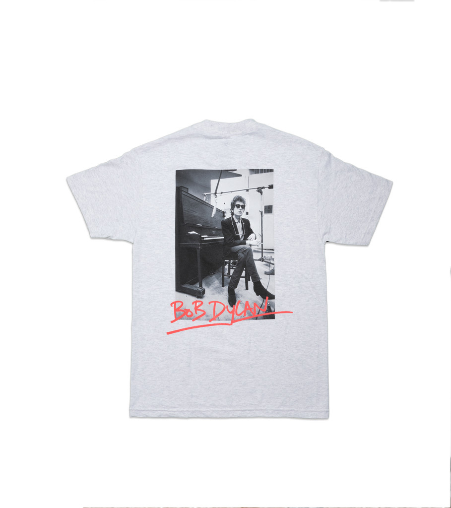 "Bob Dylan Heaven's Door Tee ""Ash Grey""-2"