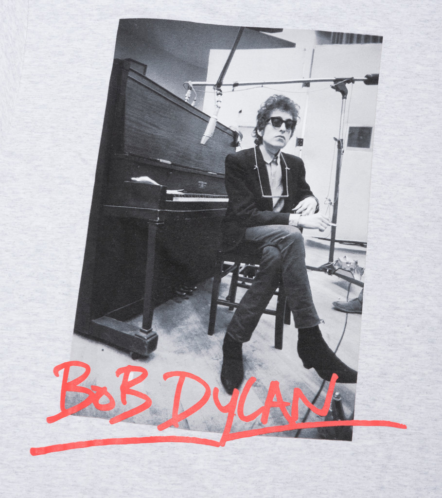 "Bob Dylan Heaven's Door Tee ""Ash Grey""-4"