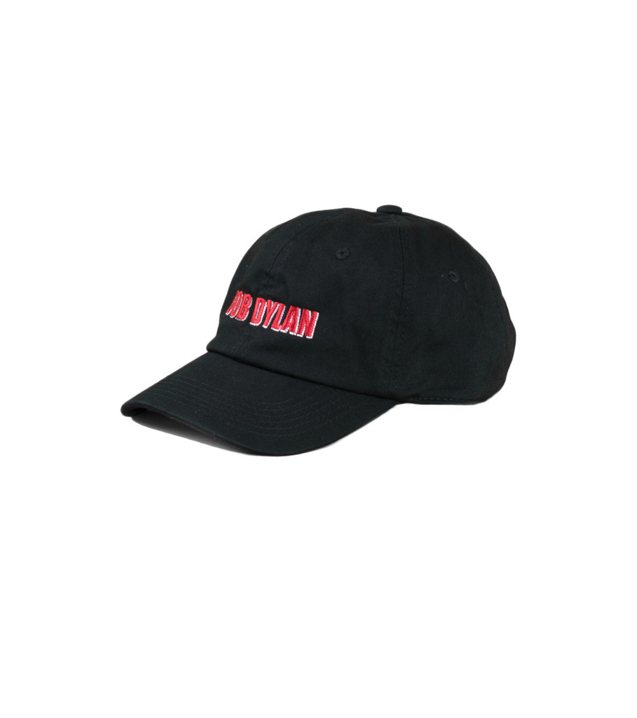 "Pleasures Bob Dylan Polo Cap ""Black"""