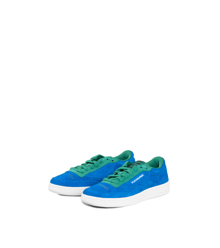 "Reebok Club C85 x Pleasures ""Blue/Green"""