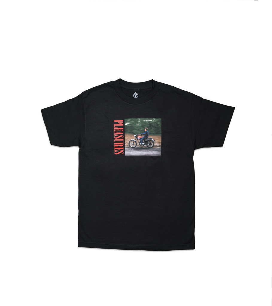 "Pleasures Bob Dylan Ride Tee ""Black"""