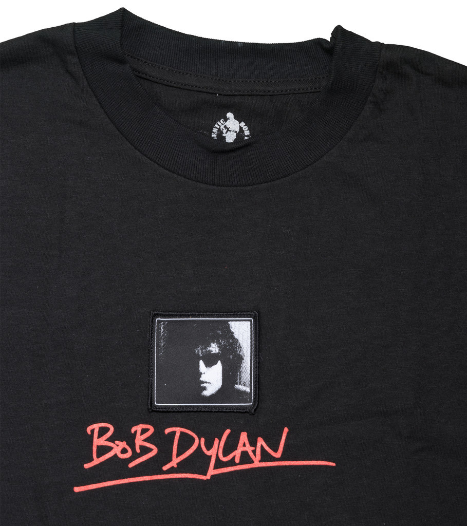 """Pleasures Bob Dylan Forever Young Tee """"Black"""""""
