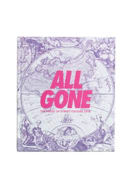"All Gone All Gone Book 2018 ""White Map"""