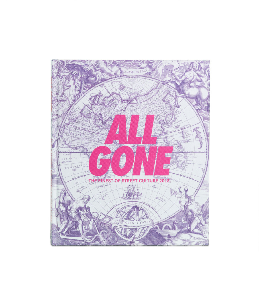"""All Gone All Gone Book 2018 """"White Map"""""""