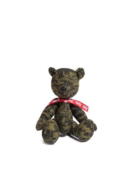 "Kosuke Kawamura Dollar Teddy Bear ""Khaki"""