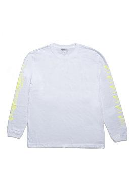 """Medicom Kosuke Kawamura Spam LS Tee """"White/Neon Yellow"""""""