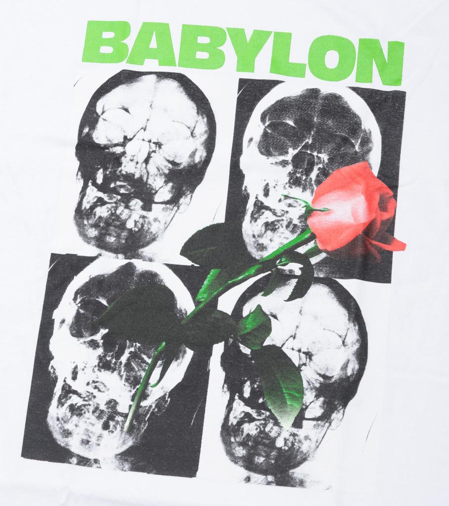 "Babylon LA Sub Rosa Tee ""White"""