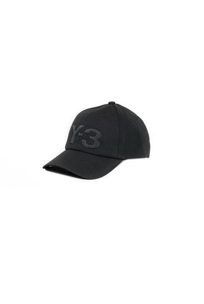 """Y-3 Logo Cap """"Black"""""""