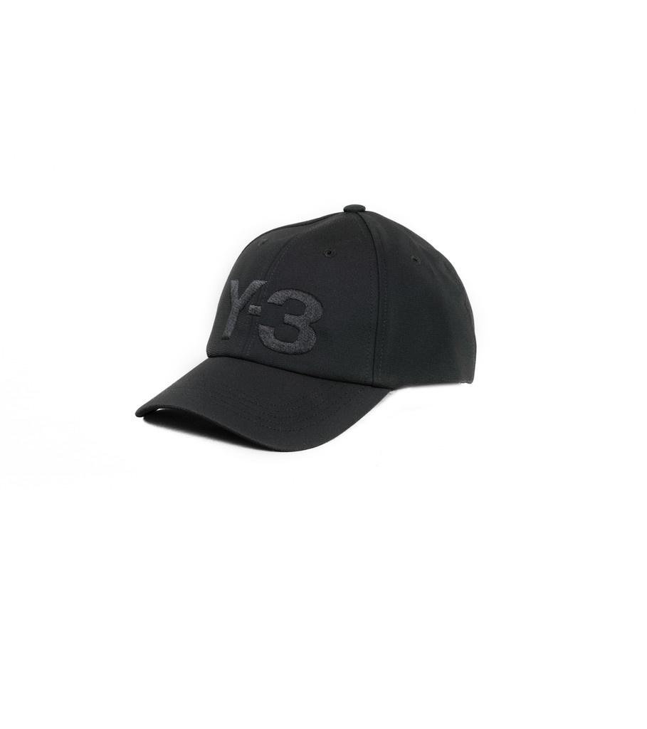 """Y-3 Logo Cap """"Black""""-1"""