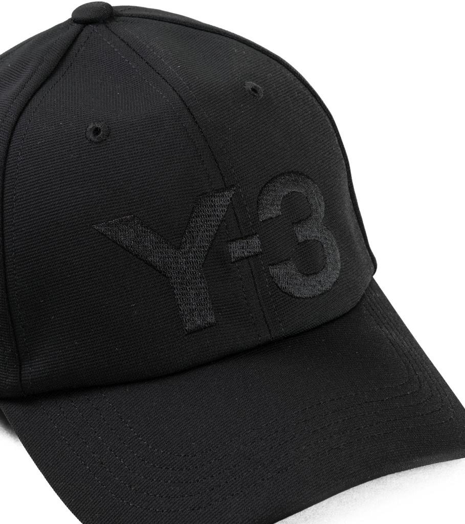 """Y-3 Logo Cap """"Black""""-3"""