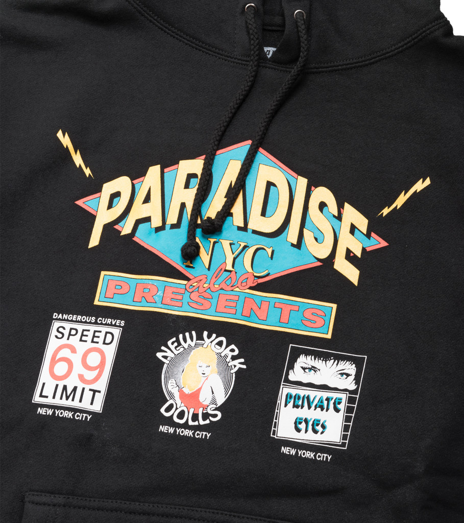 """Flashdancers Hoodie """"Black""""-2"""
