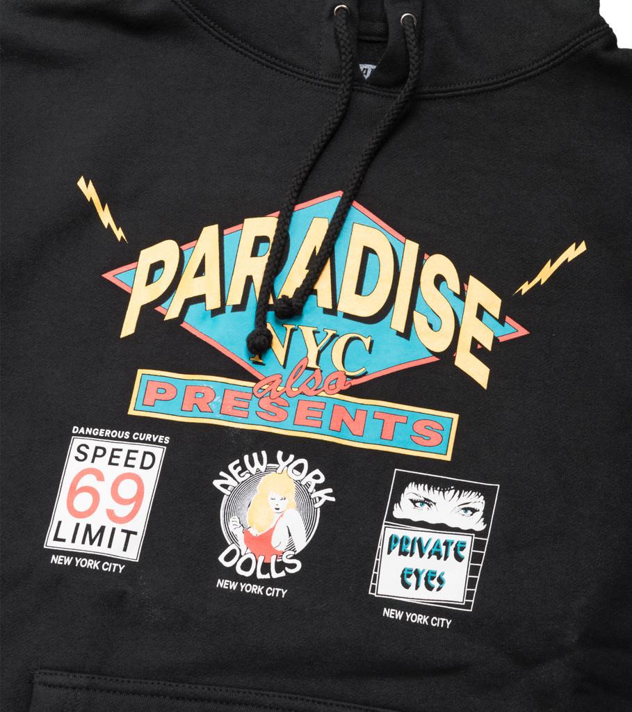 "Paradis3 Flashdancers Hoodie ""Black"""
