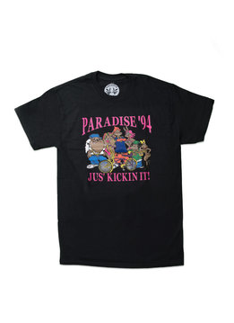 """Paradis3 Jus' Kickin' It Tee """"Black"""""""