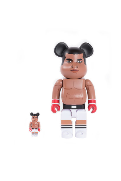 "Muhammad Ali 100% & 400% Be@rbrick ""Brown"""