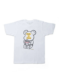 """Medicom Be@rtee x Noodlewear Made in China Tee """"White"""""""