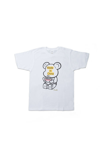 "Be@rtee x Noodlewear Made in China Tee ""White"""