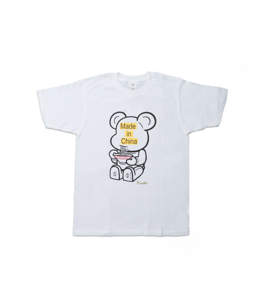 "Be@rtee x Noodlewear Made in China Tee ""White""-1"