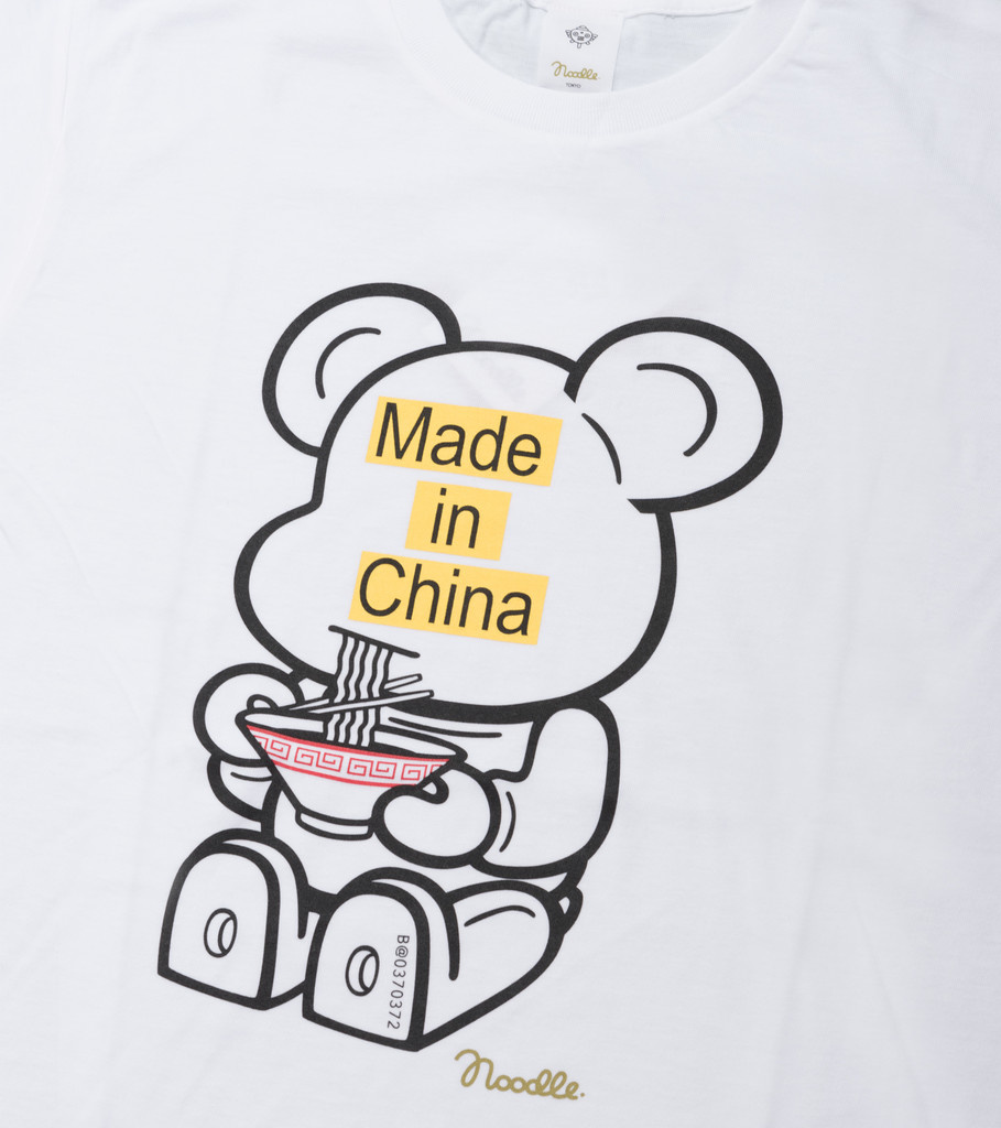"Be@rtee x Noodlewear Made in China Tee ""White""-2"