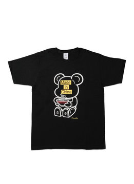 "Medicom Be@rtee x Noodlewear Made in China Tee ""Black"""
