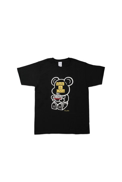 "Be@rtee x Noodlewear Made in China Tee ""Black"""
