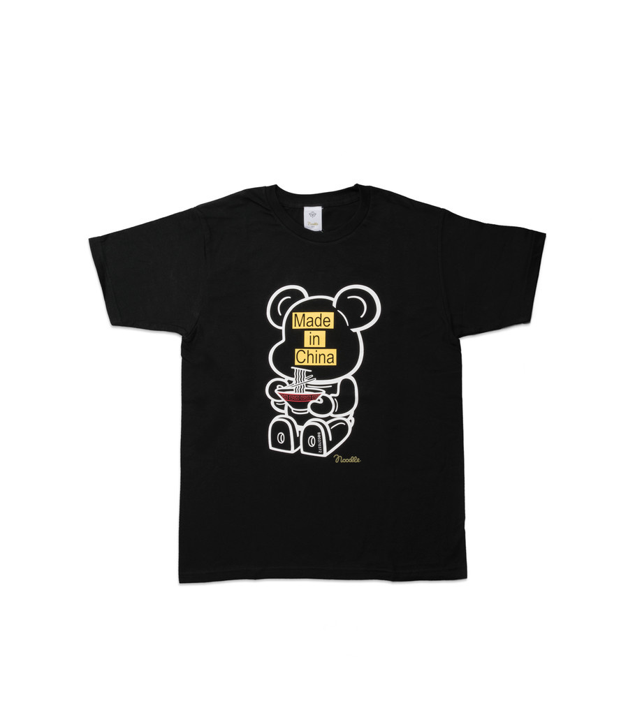 """Be@rtee x Noodlewear Made in China Tee """"Black""""-1"""