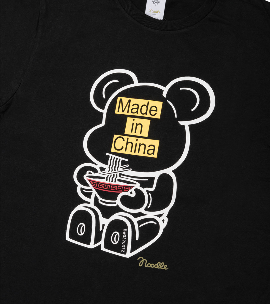 """Be@rtee x Noodlewear Made in China Tee """"Black""""-2"""