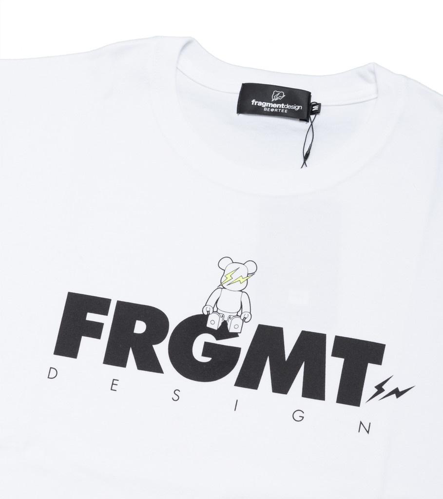 "Medicom Be@rtee x Fragmentdesign FRGMT Tee ""White"""