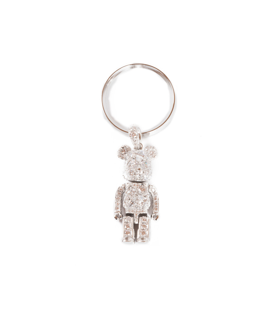 "Be@rbrick Stardust Necklace ""Silver""-6"