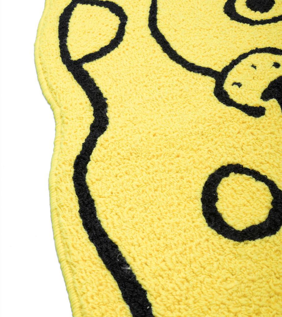 "Chinatown Market Spongebob Squarepants Polyester Rug ""Yellow"""