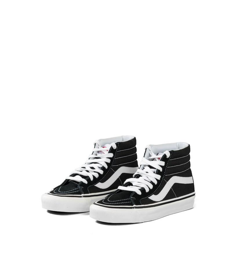 """Sk8-Hi 38 DX (Anaheim Factory) """"Black/True White""""-1"""