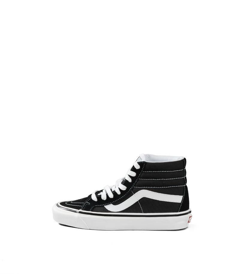 """Sk8-Hi 38 DX (Anaheim Factory) """"Black/True White""""-3"""