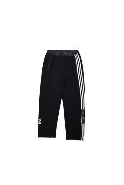 "Y-3 Tech Knit Wide Pants ""Black/White"""
