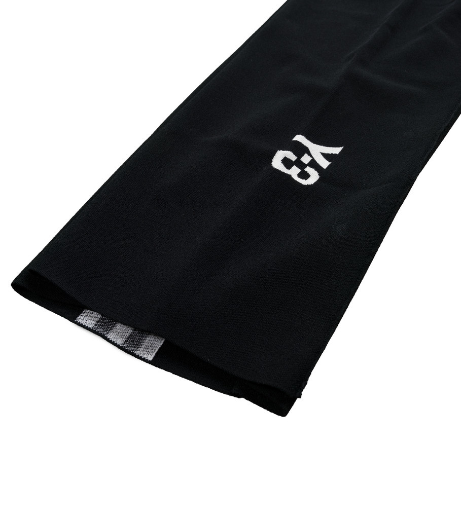 """Y-3 Tech Knit Wide Pants """"Black/White""""-6"""